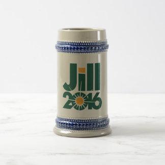 La cerveza 2016 de Jill Stein Jarra De Cerveza
