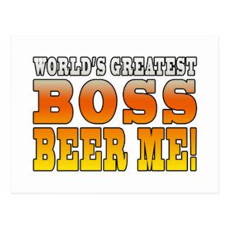 La cerveza más grande de Boss de los mundos de las