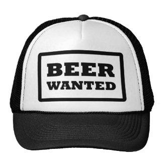 la cerveza negra quiso el icono gorras