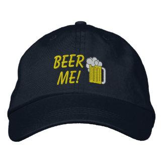 La cerveza yo bordó el gorra gorras de béisbol bordadas