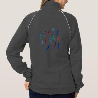 La chaqueta de chándal de las mujeres con las