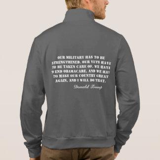La chaqueta del TRIUNFO 16 nuestros militares