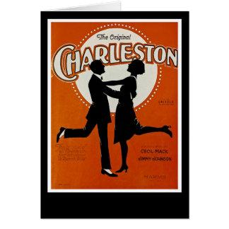 La Charleston original Tarjeta De Felicitación