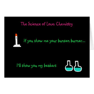 """La ciencia del amor: Tarjeta de la química"" (de"