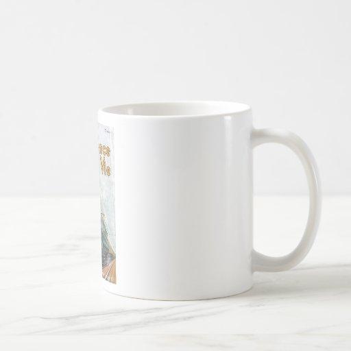 La ciencia del La y el la compiten Taza De Café