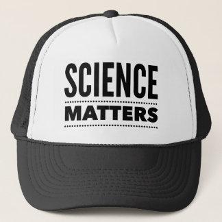 La ciencia importa gorra del camionero