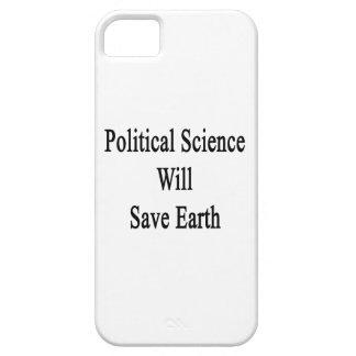 La ciencia política ahorrará la tierra iPhone 5 cobertura