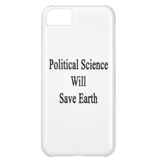 La ciencia política ahorrará la tierra