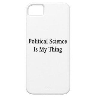 La ciencia política es mi cosa iPhone 5 Case-Mate cárcasas