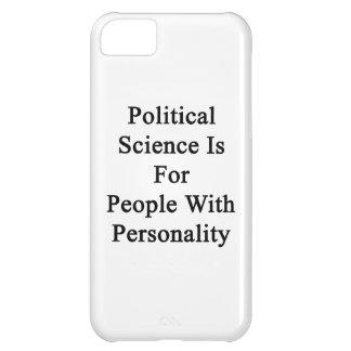 La ciencia política está para la gente con persona