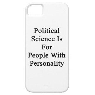 La ciencia política está para la gente con persona iPhone 5 protectores