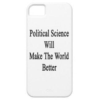 La ciencia política hará el mundo mejor