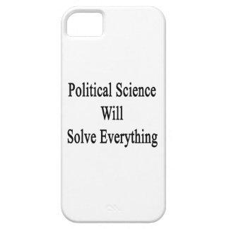 La ciencia política solucionará todo