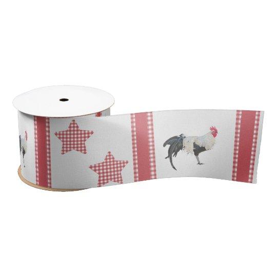 La cinta de satén de la decoración del país de las lazo de raso
