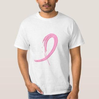 La cinta rosada A4 del cáncer de pecho Camiseta