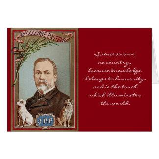 La cita histórica del retrato famoso de Louis Tarjeta De Felicitación