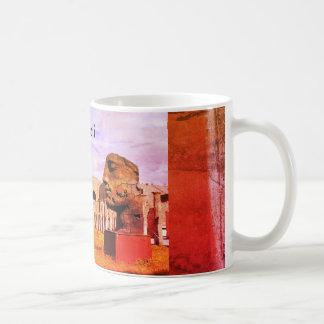 La ciudad antigua de Pompeya Taza De Café