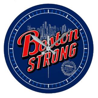 La ciudad de Boston fuerte recuerda en el dial de Reloj Redondo Grande