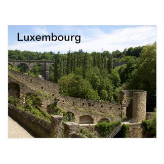 La ciudad de Luxemburgo arruina la postal