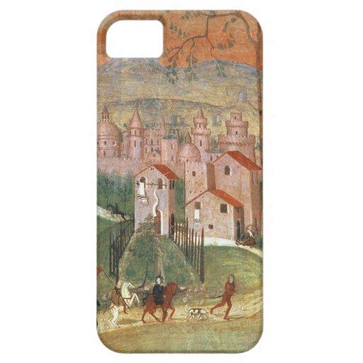 La ciudad de Prato (fresco) iPhone 5 Case-Mate Protector