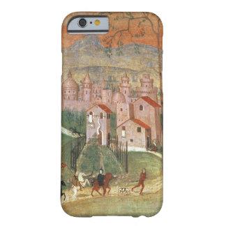 La ciudad de Prato (fresco) Funda De iPhone 6 Barely There