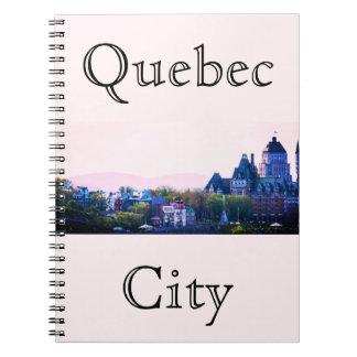 La ciudad de Quebec simple Cuaderno