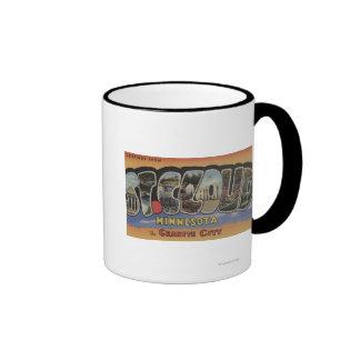 La ciudad del granito - escenas grandes de la letr taza de café
