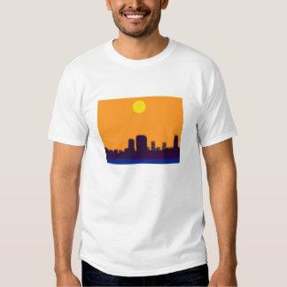 la ciudad enciende el zzz camisetas