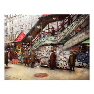 La ciudad - NY - quiera a un señor de papel 1903 Folleto 21,6 X 28 Cm