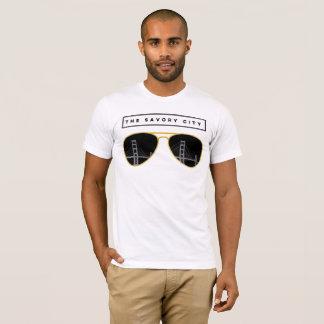 la ciudad sabrosa - camiseta agradable de San