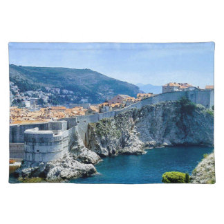 La ciudad vieja de Dubrovnik Salvamanteles