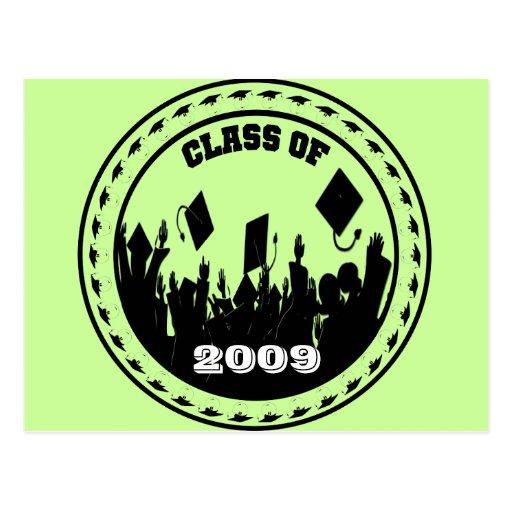 La clase de 2009/2010 elige sus colores de la escu tarjetas postales