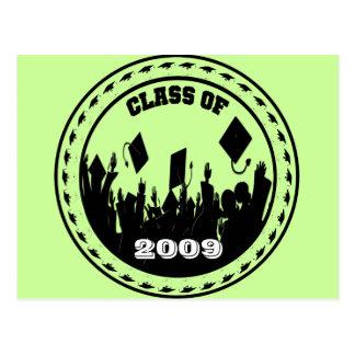 La clase de 2009/2010 elige sus colores de la postal