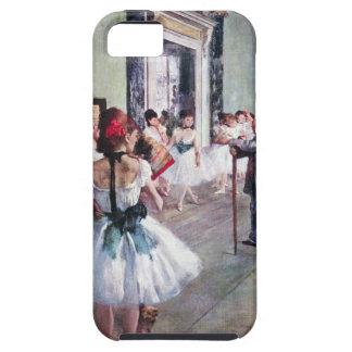 La clase de danza de Edgar Degas, arte del ballet iPhone 5 Case-Mate Carcasa