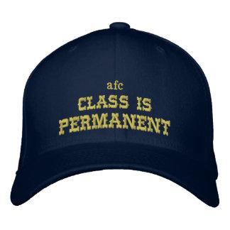 """La """"clase es"""" gorra de béisbol permanente"""