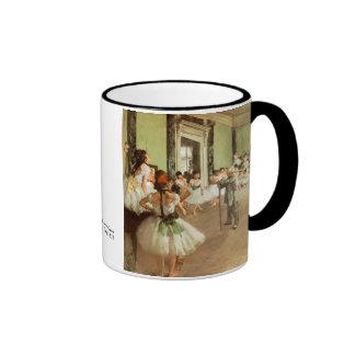 La Classe de Danse de Edgar Degas Taza De Dos Colores