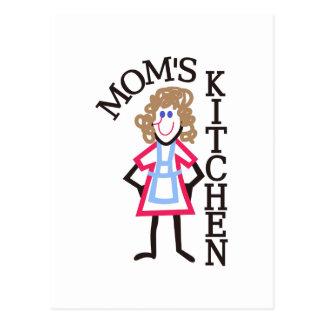 La cocina de la mamá postal