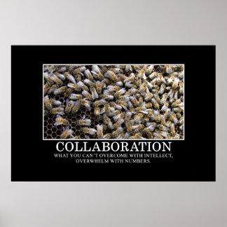 La colaboración mejora su oportunidad de éxito [el póster