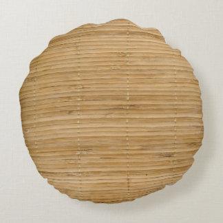 La colección de bambú cojín redondo