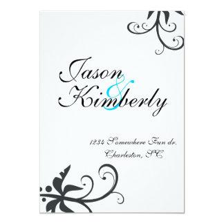 la colección de Kimberly Invitación 12,7 X 17,8 Cm