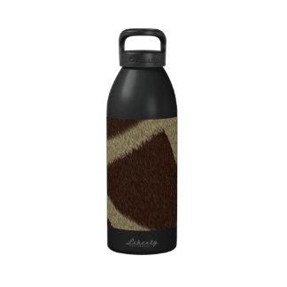 La colección de la piel - piel de la jirafa botella de agua