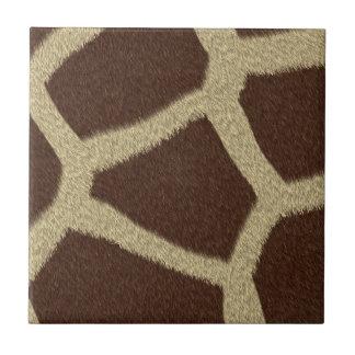 La colección de la piel - piel de la jirafa tejas  ceramicas