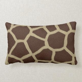 La colección de la piel - piel de la jirafa cojin