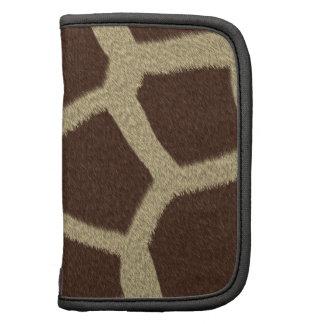 La colección de la piel - piel de la jirafa planificador