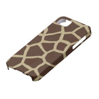 La colección de la piel - piel de la jirafa iPhone 5 protectores
