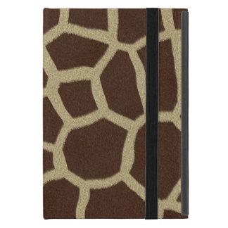 La colección de la piel - piel de la jirafa iPad mini fundas