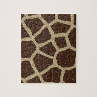 La colección de la piel - piel de la jirafa puzzles con fotos