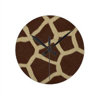 La colección de la piel - piel de la jirafa reloj