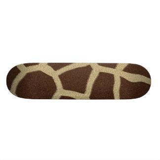 La colección de la piel - piel de la jirafa tablas de patinar