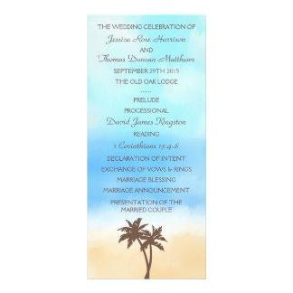 La colección del boda de playa de la acuarela tarjetas publicitarias personalizadas
